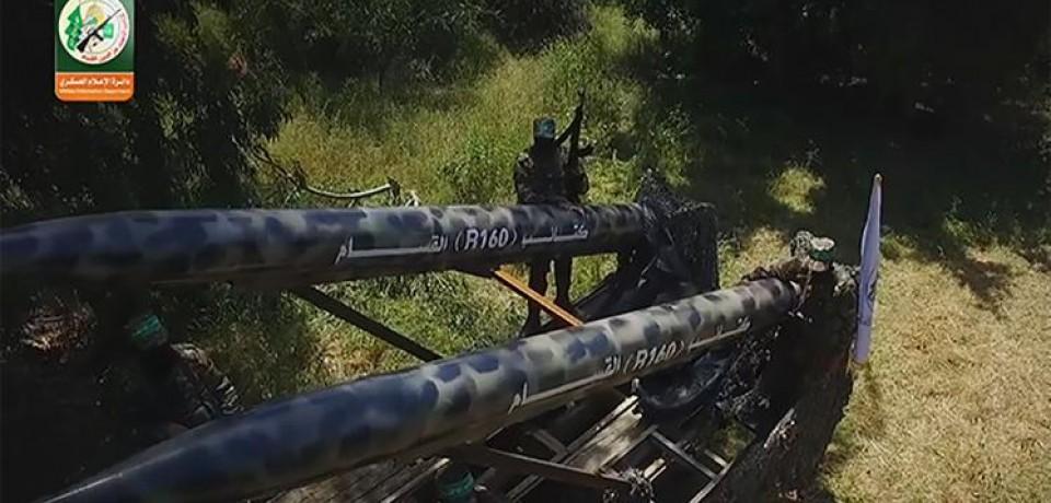 """Hamas prvi put objavio slike poznate """"R-160"""" rakete"""