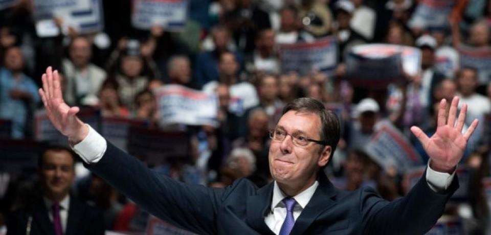 """Izbori u Srbiji: """"Srbija pobeđuje – Aleksandar Vučić"""" osvojila 48,22 odsto glasova"""