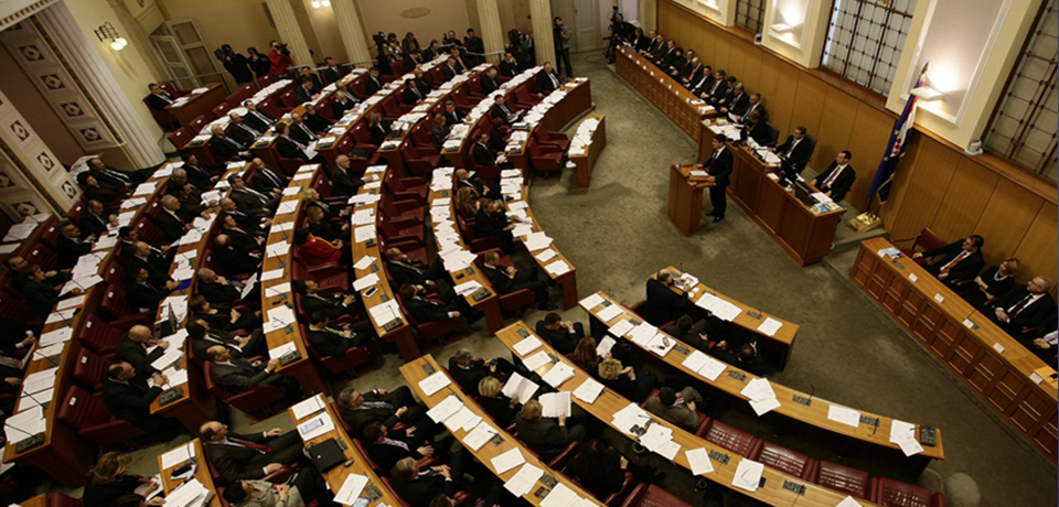Reading in the results of the Croatian parliamentary elections (2015)